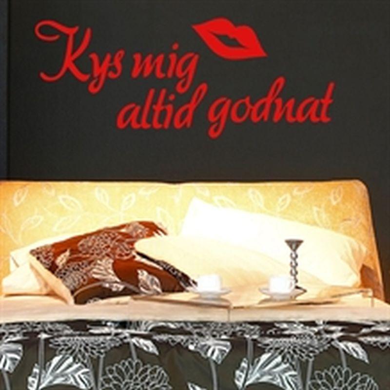 kys-mig-altid-godnat-wallsticker-t - endnu en blog fra os